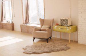 Grandville property management - modern living room